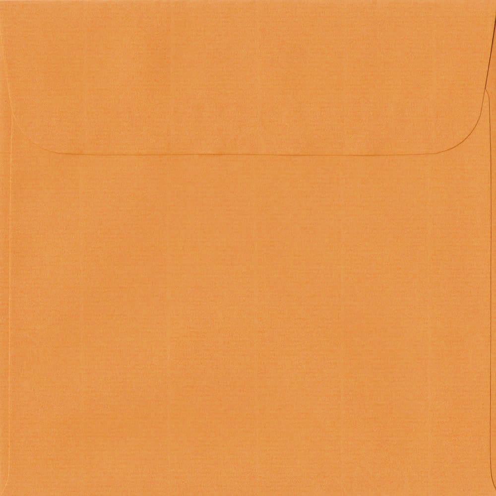 160mm x 160mm Mango Laid Envelope. Square Paper Size. Peel/Seal Flap. 100gsm Paper.