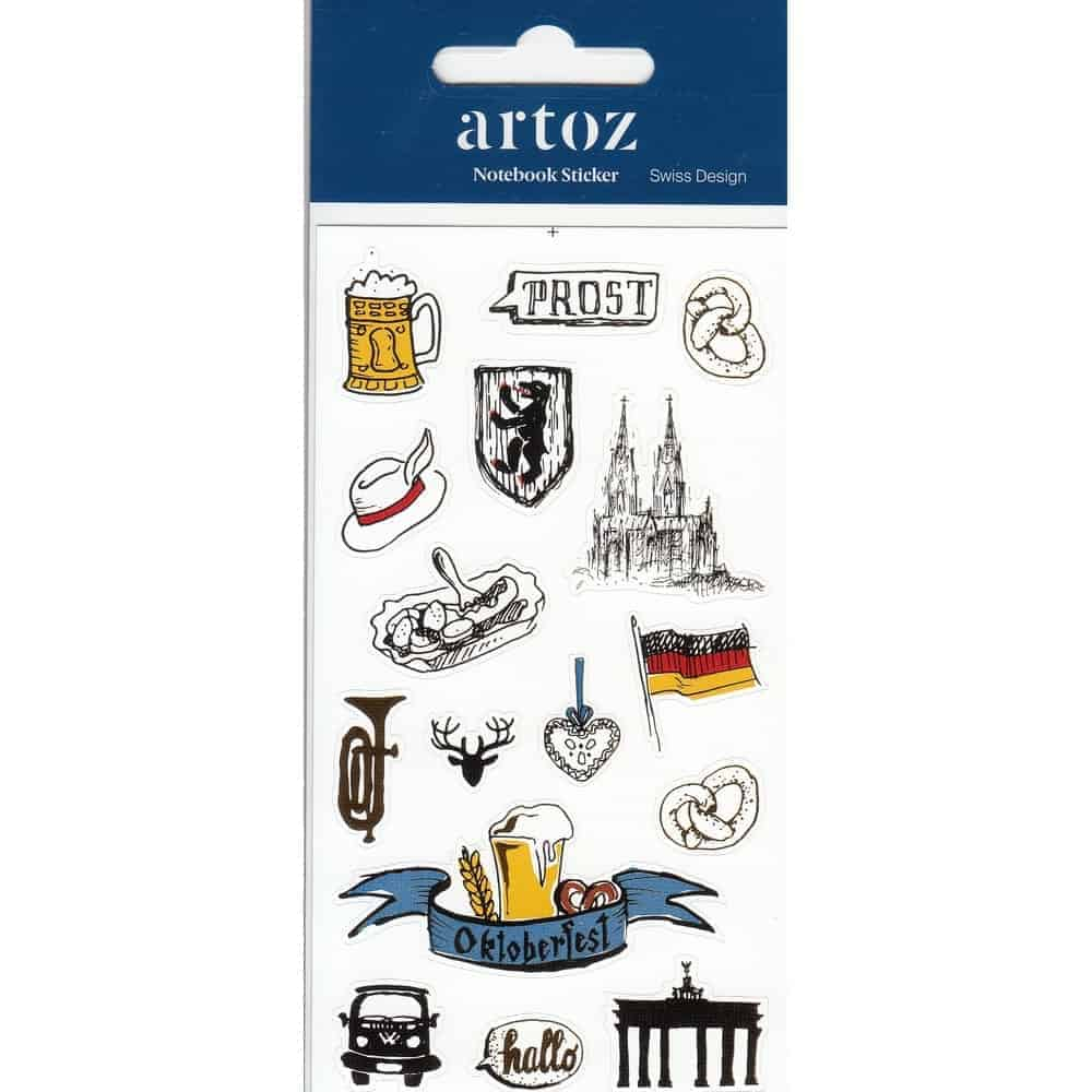 Germany Self Adhesive Stickers By Artoz