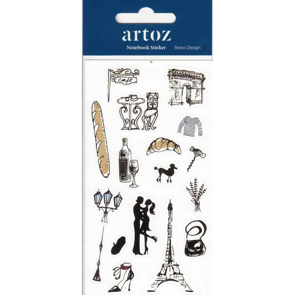 France Self Adhesive Stickers By Artoz