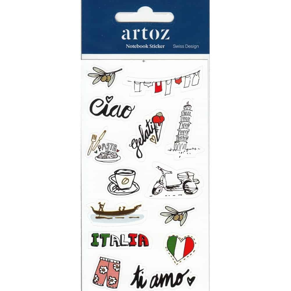 Italy Self Adhesive Stickers By Artoz