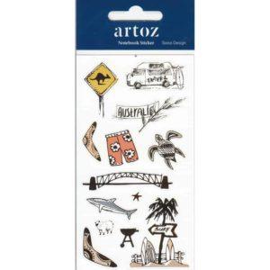 Australia Self Adhesive Stickers By Artoz