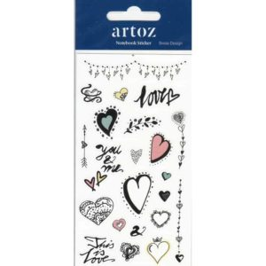 Love Romance Self Adhesive Stickers By Artoz