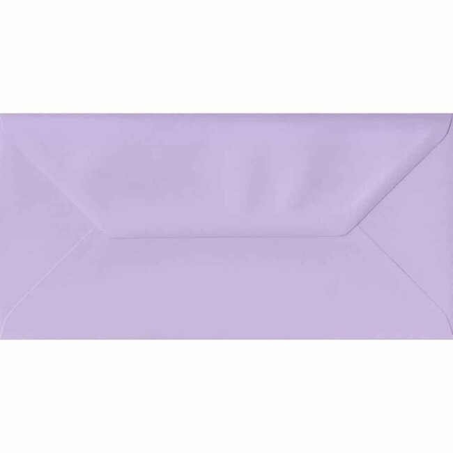 110mm x 220mm Amethyst Top Quality Envelope. DL Envelopes Size. Gummed Flap. 100gsm Paper.