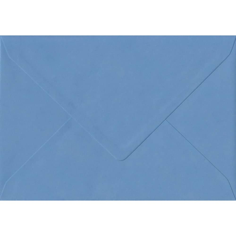 162mm x 229mm China Blue Top Quality Envelope. C5 (to fit A5) Size. Gummed Flap. 100gsm Paper.
