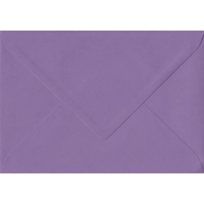 162mm x 229mm Indigo Top Quality Envelope. C5 (to fit A5) Size. Gummed Flap. 100gsm Paper.