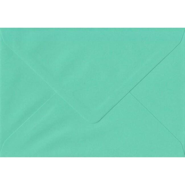 114mm x 162mm Warbler Green Top Quality Envelope. C6 (to fit A6) Size. Gummed Flap. 100gsm Paper.