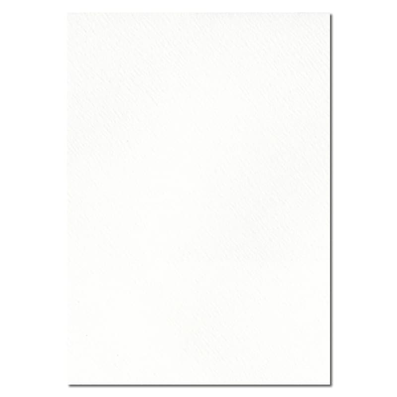 297mm x 210mm Alabaster White Textured Paper. A4 Sheet Size. 115gsm White Paper.