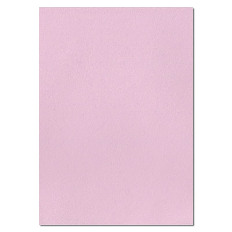 297mm x 210mm Baby Pink Solid Paper. A4 Sheet Size. 100gsm Pink Paper.