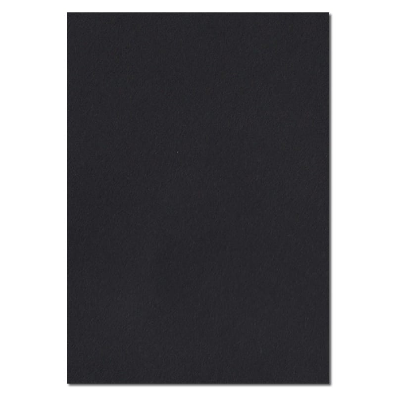 297mm x 210mm Black Solid Paper. A4 Sheet Size. 100gsm Black Paper.