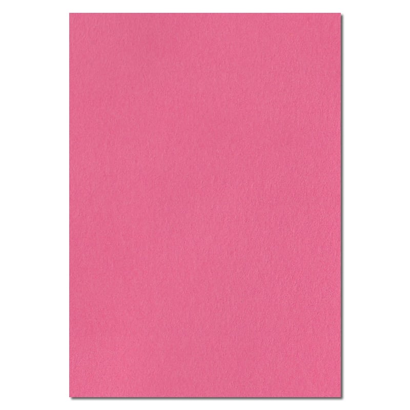 297mm x 210mm Flamingo Pink Extra Thick Paper. A4 Sheet Size. 120gsm Pink Paper.