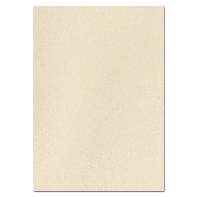 297mm x 210mm Clotted Cream Extra Thick Paper. A4 Sheet Size. 120gsm Cream Paper.