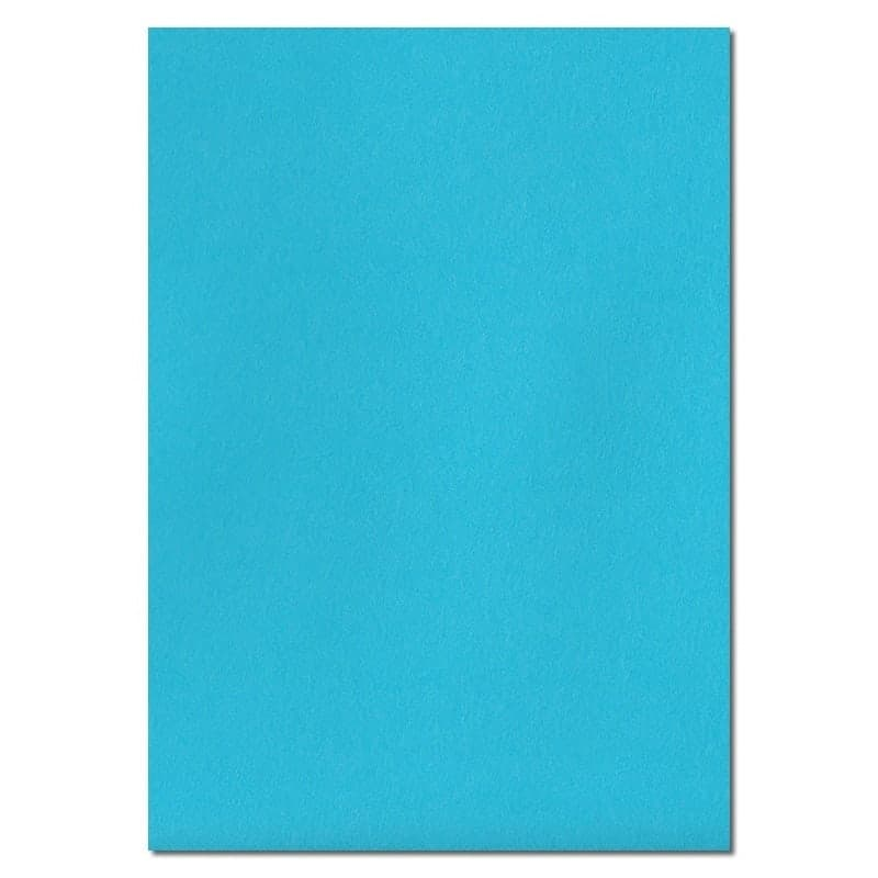 297mm x 210mm Cocktail Blue Extra Thick Paper. A4 Sheet Size. 120gsm Blue Paper.