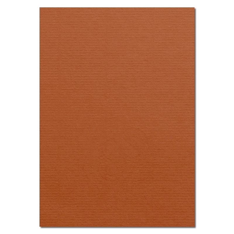 297mm x 210mm Copper Watermarked Paper. A4 Sheet Size. 100gsm Brown Paper.