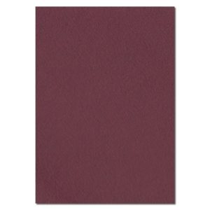 297mm x 210mm Deep Burgundy Solid Paper. A4 Sheet Size. 120gsm Red Paper.
