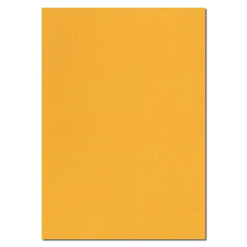 297mm x 210mm Egg Yellow Extra Thick Paper. A4 Sheet Size. 120gsm Yellow Paper.