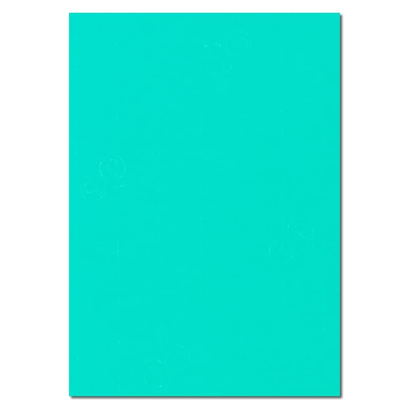 297mm x 210mm Emerald Green Watermarked Paper. A4 Sheet Size. 100gsm Green Paper.