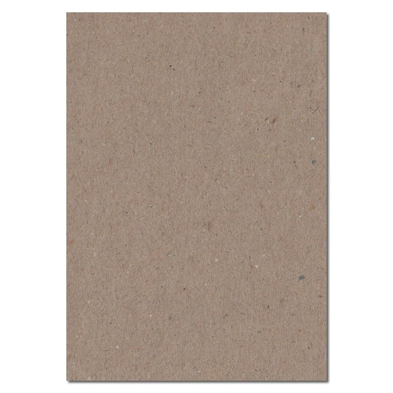 297mm x 210mm Fleck Kraft Recycled Paper. A4 Sheet Size. 100gsm Brown Paper.