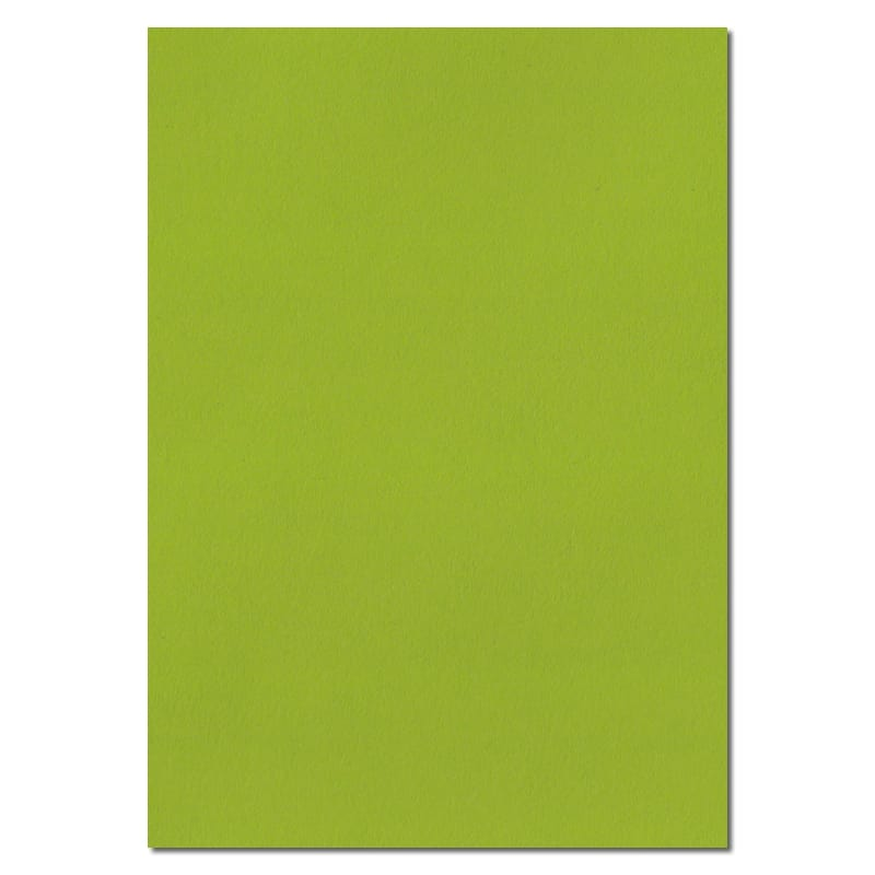 297mm x 210mm Fresh Green Solid Paper. A4 Sheet Size. 100gsm Green Paper.