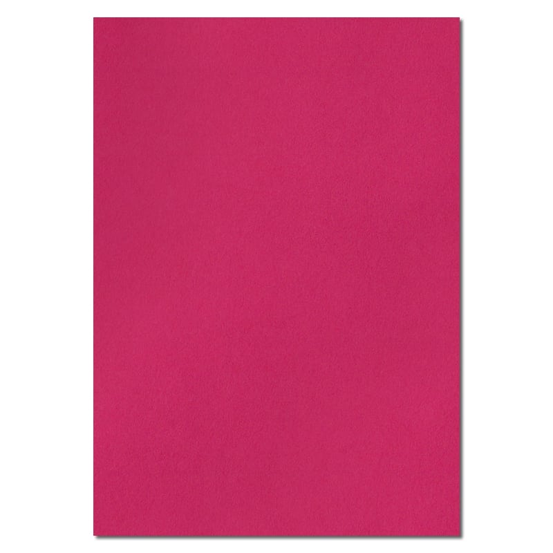 297mm x 210mm Fuchsia Pink Solid Paper. A4 Sheet Size. 100gsm Pink Paper.