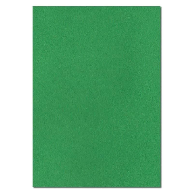 297mm x 210mm Holly Green Extra Thick Paper. A4 Sheet Size. 120gsm Green Paper.