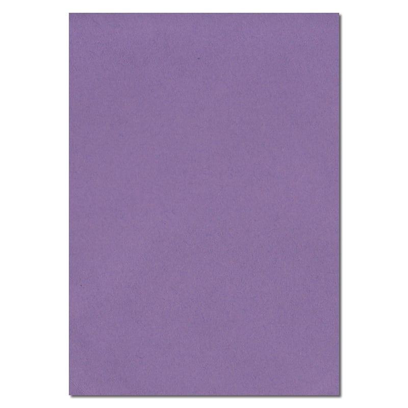 297mm x 210mm Indigo Purple Solid Paper. A4 Sheet Size. 100gsm Purple Paper.