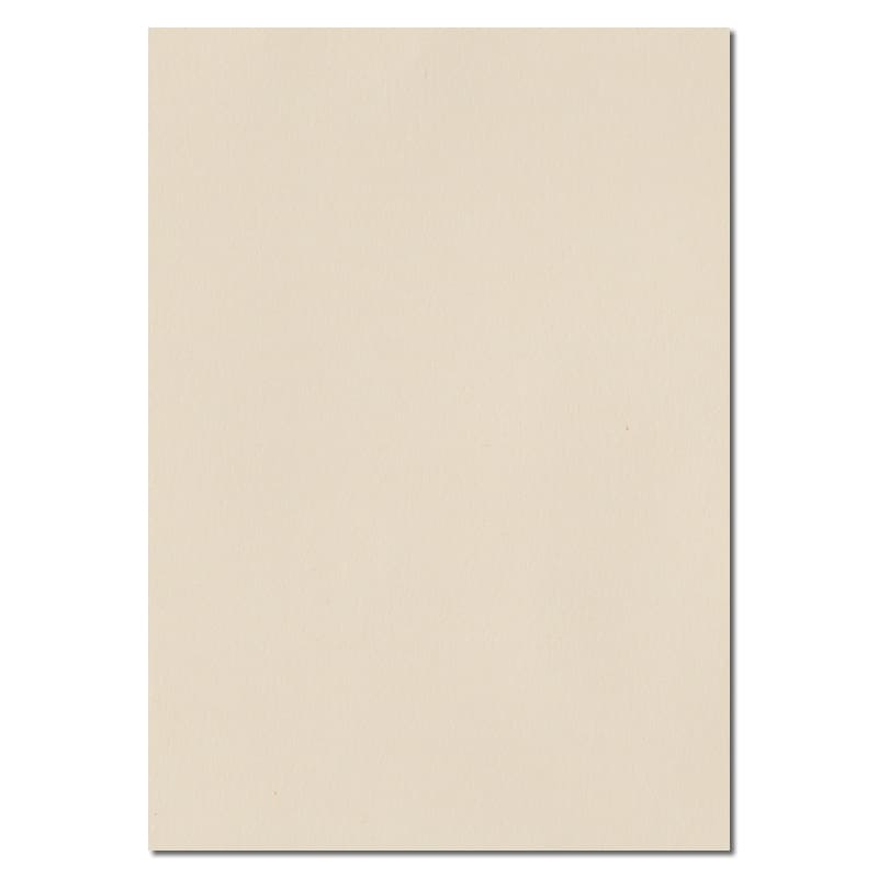 297mm x 210mm Ivory Solid Paper. A4 Sheet Size. 100gsm Ivory Paper.