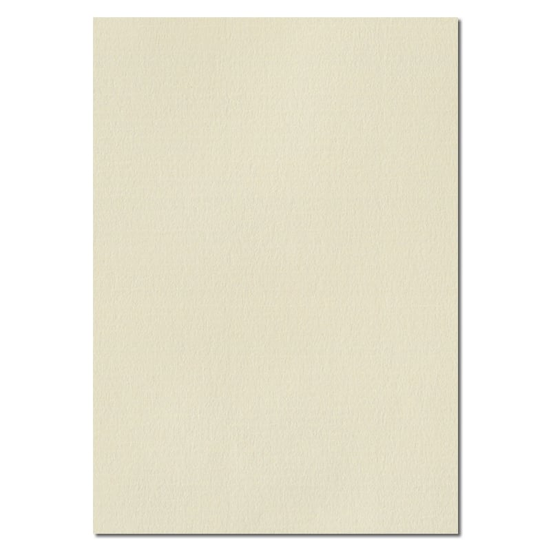 297mm x 210mm Ivory Laid Textured Paper. A4 Sheet Size. 115gsm Ivory Paper.