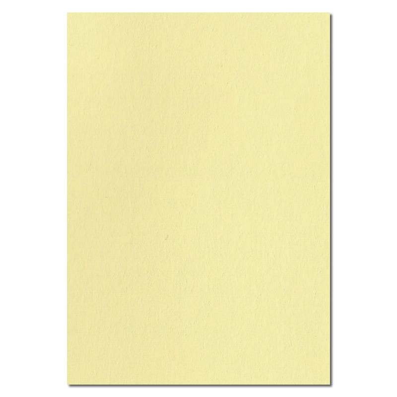 297mm x 210mm Lemon Yellow Extra Thick Paper. A4 Sheet Size. 120gsm Yellow Paper.