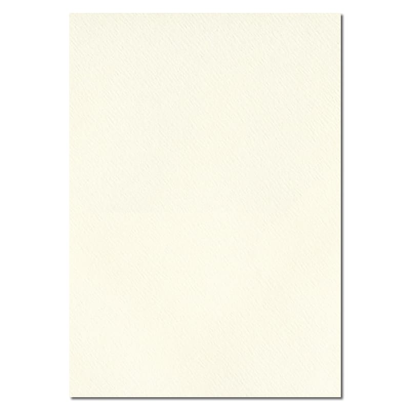 297mm x 210mm Magnolia Cream Textured Paper. A4 Sheet Size. 120gsm Cream Paper.