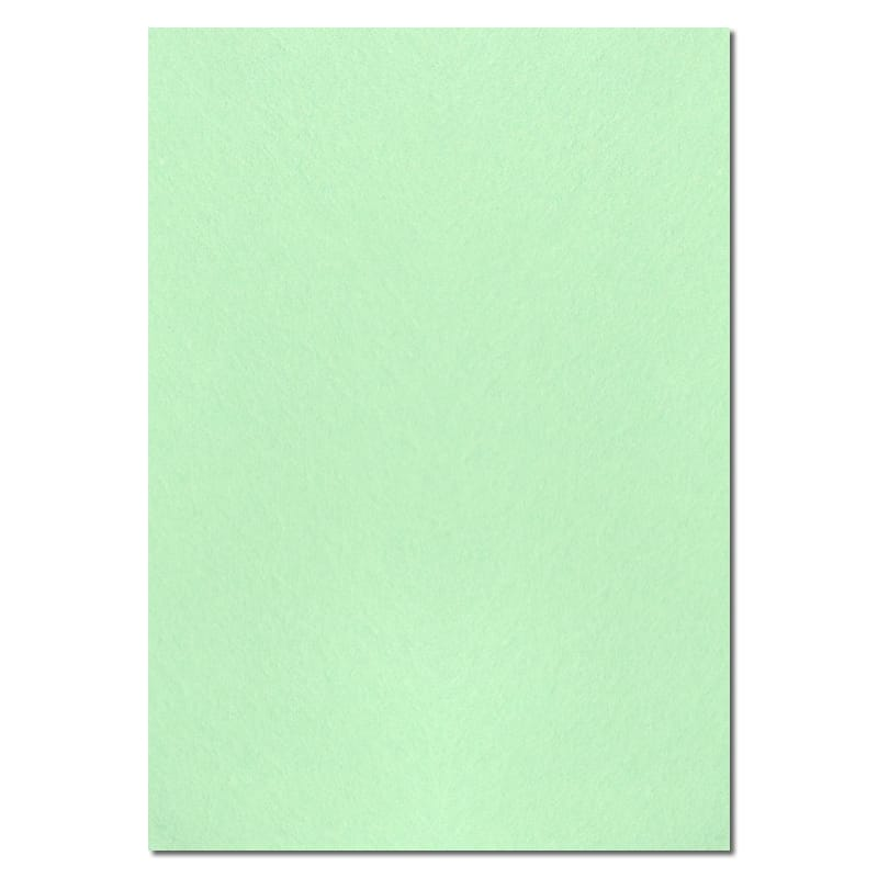 297mm x 210mm Mint Green Solid Paper. A4 Sheet Size. 100gsm Green Paper.