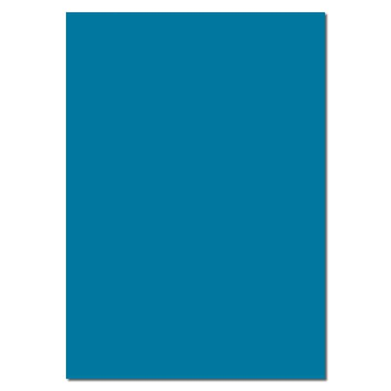 297mm x 210mm Petrol Blue Watermarked Paper. A4 Sheet Size. 100gsm Blue Paper.