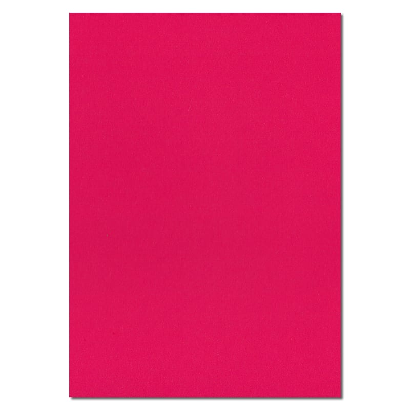 297mm x 210mm Shocking Pink Extra Thick Paper. A4 Sheet Size. 120gsm Pink Paper.