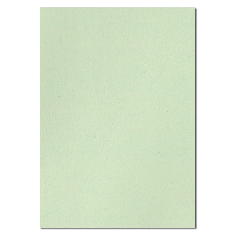 297mm x 210mm Spearmint Green Extra Thick Paper. A4 Sheet Size. 120gsm Green Paper.