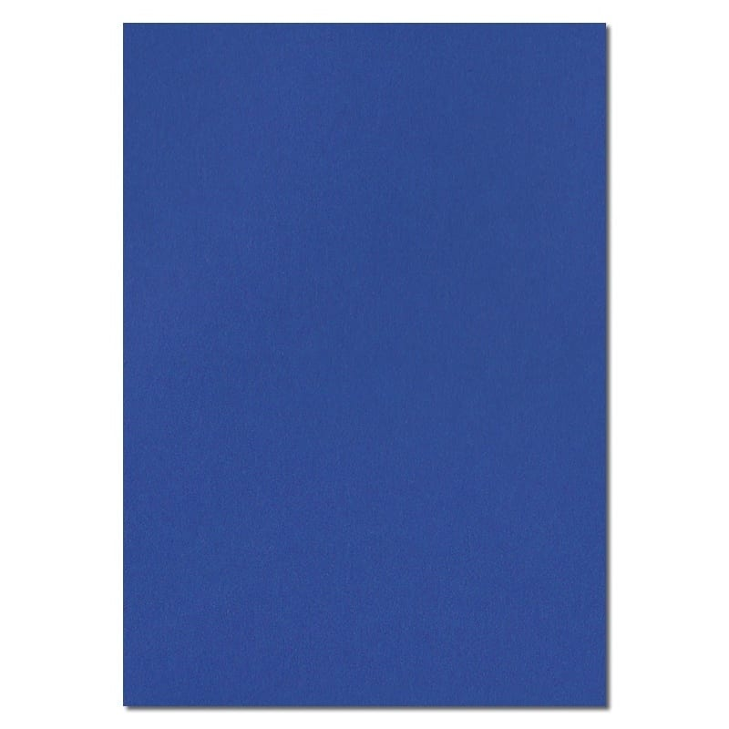 297mm x 210mm Victory Blue Extra Thick Paper. A4 Sheet Size. 120gsm Blue Paper.
