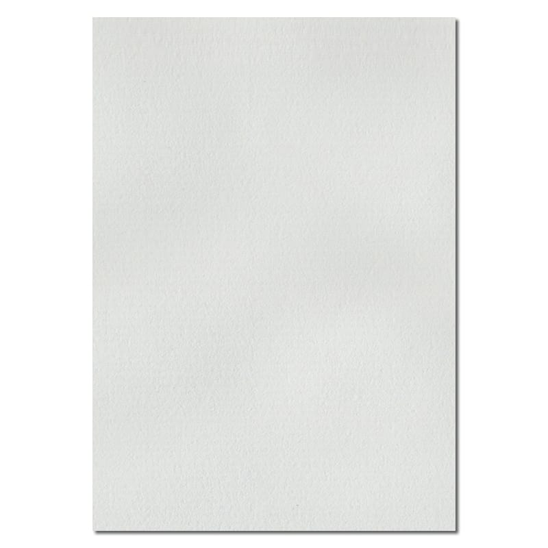 297mm x 210mm White Laid Textured Paper. A4 Sheet Size. 100gsm White Paper.