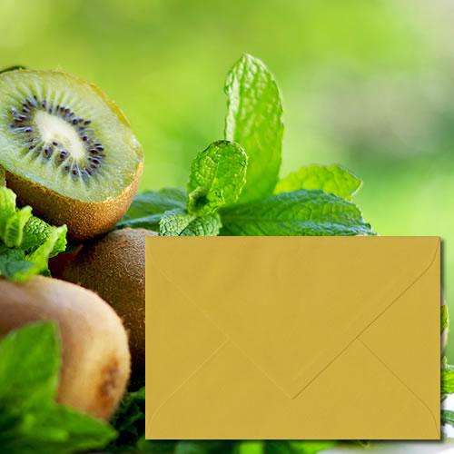 Kiwi Green Laid Envelopes