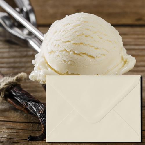 Vanilla Colour Envelopes