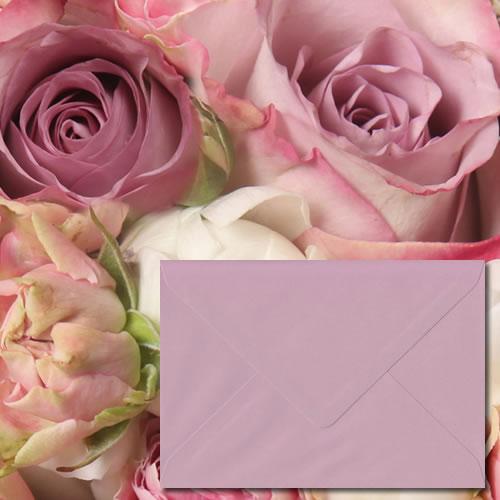 Vintage Pink Luxury Envelopes