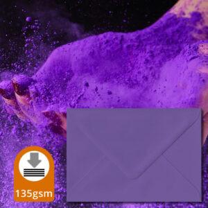 Intense Purple Envelopes